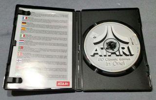 CD-ROM ATARI con 80 juegos.