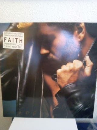 Vinilo George Michael faith