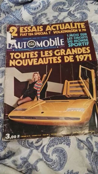 Revista Automobile 1971