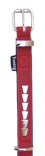 Collar Rock Rojo Freedog