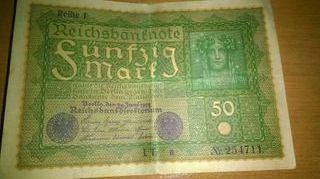 Billetes antiguos extranjeros