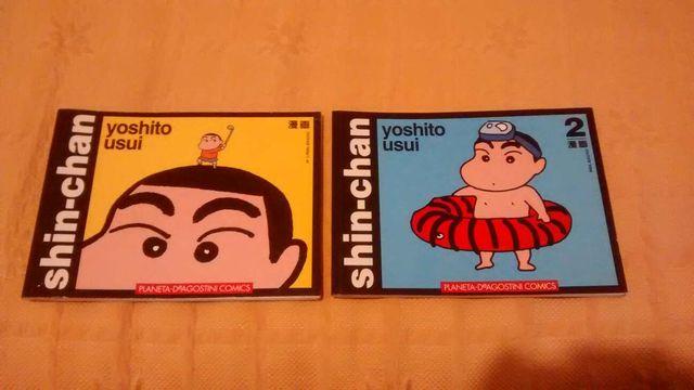 Manga Shin Chan (n° 1 y 2)