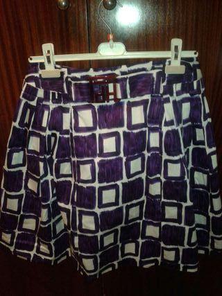 Conjunto falda y sweter
