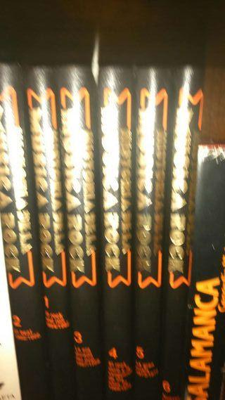 Colección enciclopedia rock, 6 libros+30 vinilos