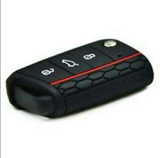 Funda de silicona para llave de VW golf, Ford, Fiat, Peugeot, audi