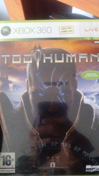 Vendo too human para xbox 360