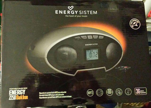 Caja de equipo de música portátil de Energy Sistem