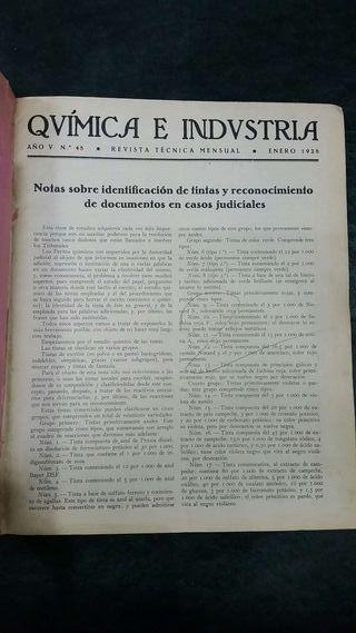 Anuario Revista Química e Industria 1928