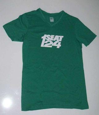 Camiseta verde Seat 124