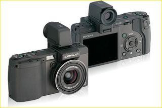 Cámara Fotos Digital Ricoh GX100