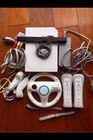 Nintendo Wii.blanca