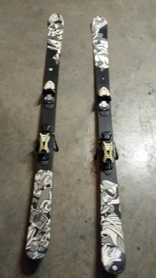 Skis K2 Fujitive Freestyle Nuevos