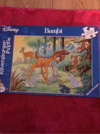 Puzzle Bambi De Disney
