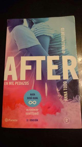 """Libro """"After, en mil pedazos"""""""