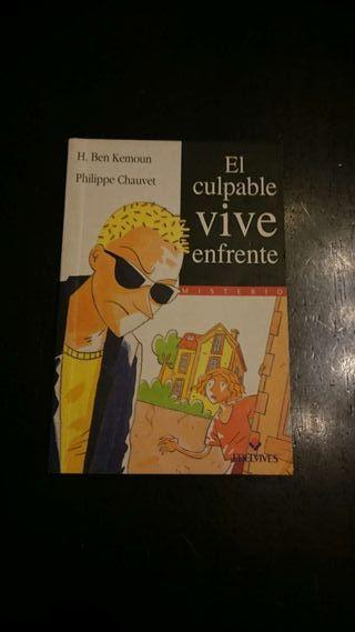 """Libro """"El culpable vive enfrente"""""""