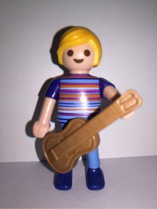 Niño Con Guitarra De Playmobil