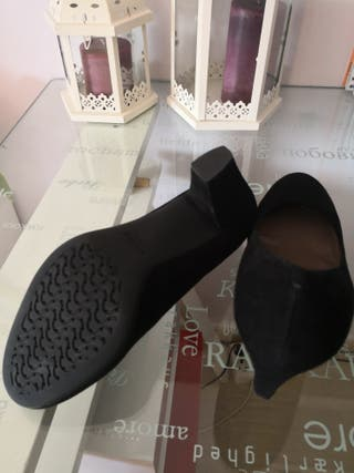 Ante ¡a Salon Geox Zapatos Mano De Segunda Negros Por EstrenarN°40 n0OP8NXwk