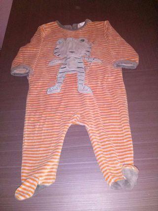 Pijama efecto peluche