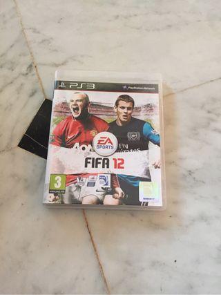 Videojuego Fifa 2012 PS3