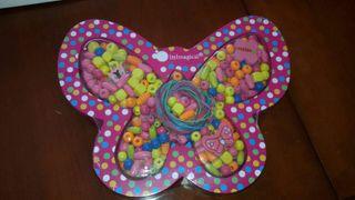 Mariposa para hacer pulseras