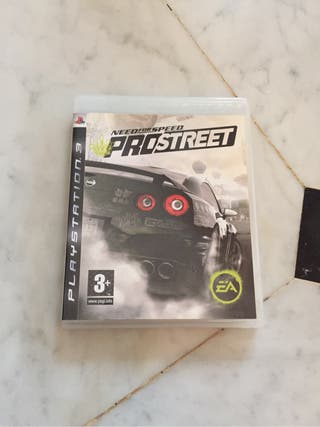 Videojuego NFS Prostreet PS3