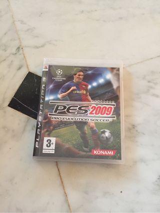 Videojuego PES 2009 PS3