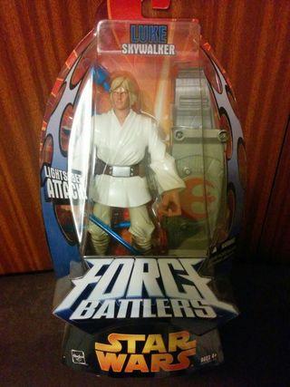 Star wars Force Battler figura Luke