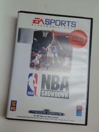 Juego NBA para consolas Sega