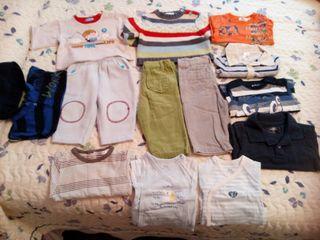 Lote ropa invierno bebe niño 3 meses