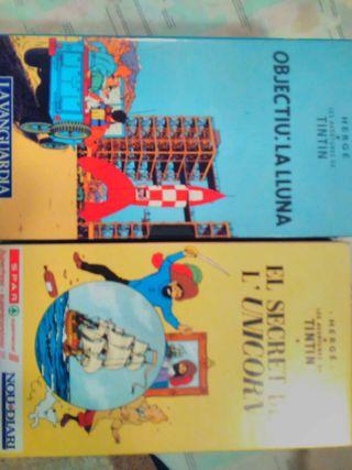 Colección peliculas Tintin