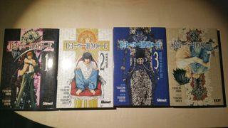 Mangas Death Note 1,2,3,7