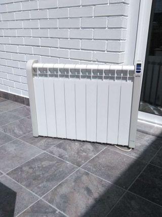 Emisor térmico Calor azul