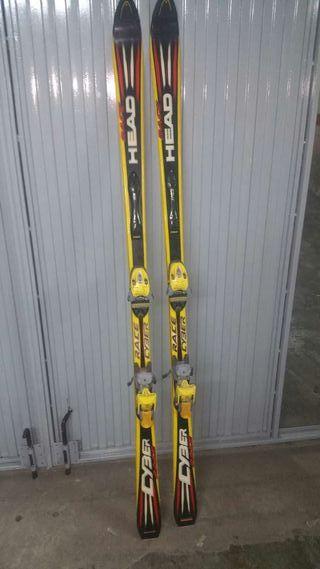 Esquís de la de segunda WALLAPOP mano en Girona provincia Head en prqZw5p