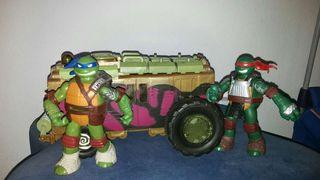 Juguetes Camion teledirigido de las tortugas nitja