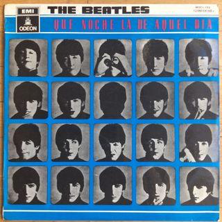 The Beatles - A Hard Day's Night / Que Noche La De Aquel Día (original 1964)