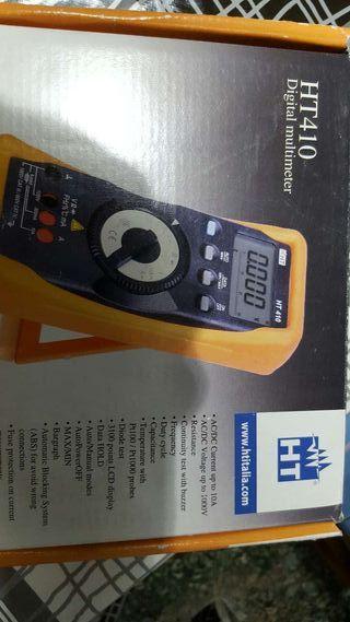 Multimetro digital ht 410