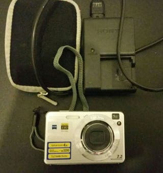 Camara digital Sony dsc w120 7.2 mpx hd