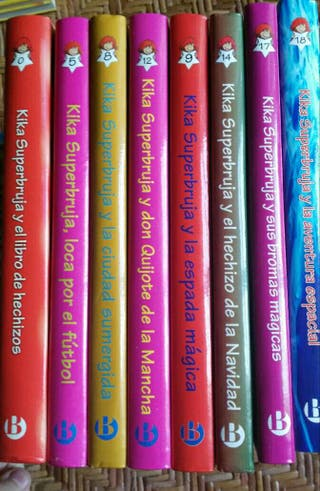 "Libros ""Kika Superbruja"""