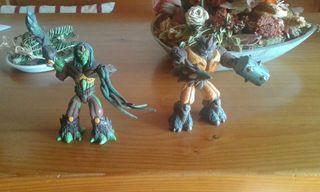 Dos gormitis el de piedra y el de tierra