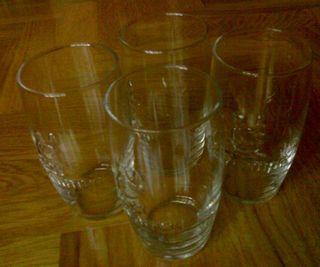 Vaso cristal cerveza Cruzcampo