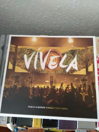 CD Pablo Alborán - Vívela - Single Tour Terral