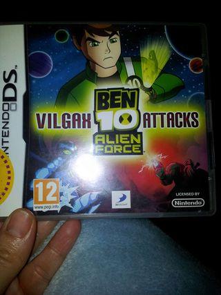 Juego Ds Ben 10 Alien Force Vilgax Attacks
