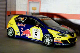 Coche de rally scalextric