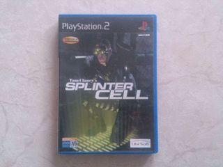 Videojuego SPLINTER CELL Playstation 2 PS2