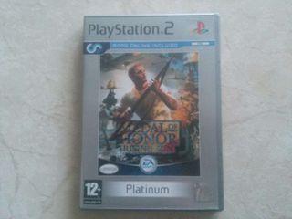 MEDAL OF HONOR - RISING SUN PS2