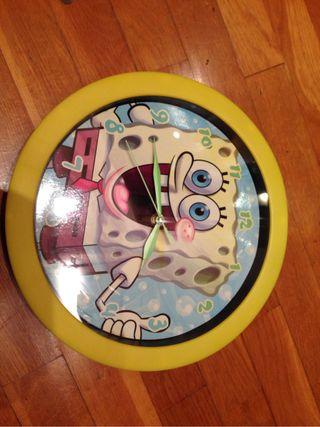 Reloj Bob Esponja