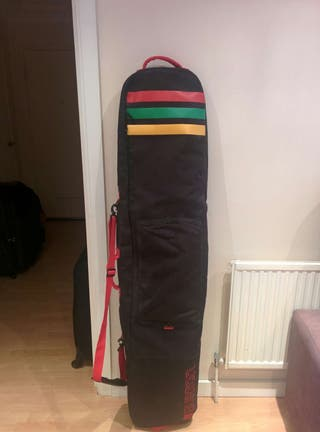 Burton Snowboard / Ski bag - rasta color