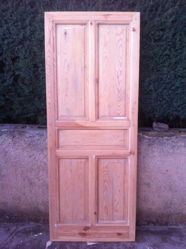 puertas madera antiguas restauradas de segunda mano por 90