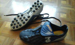 Zapatillas Joma con tacos n. 43 y medias