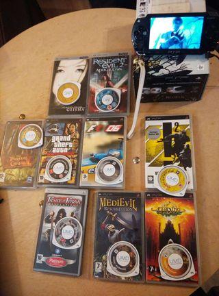 PSP+juegos+pelis